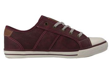 Mustang Shoes Sneaker in Übergrößen Rot 1209-301-55 große Damenschuhe – Bild 4