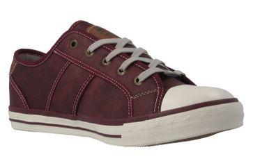 Mustang Shoes Sneaker in Übergrößen Rot 1209-301-55 große Damenschuhe – Bild 5