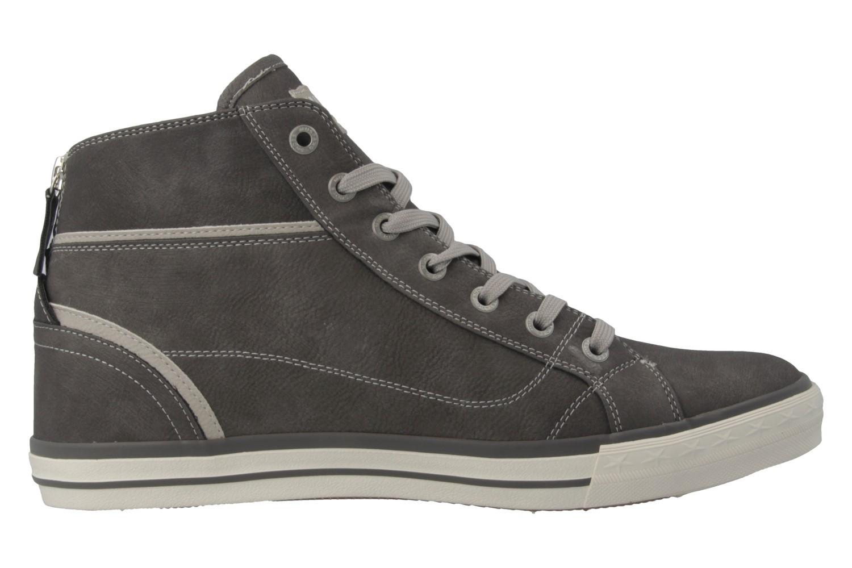 Mustang Shoes High Top Sneaker in Übergrößen Grau 1209-502-2 große Damenschuhe – Bild 4