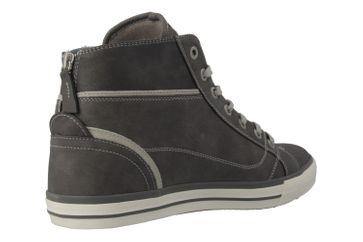 Mustang Shoes High Top Sneaker in Übergrößen Grau 1209-502-2 große Damenschuhe – Bild 3