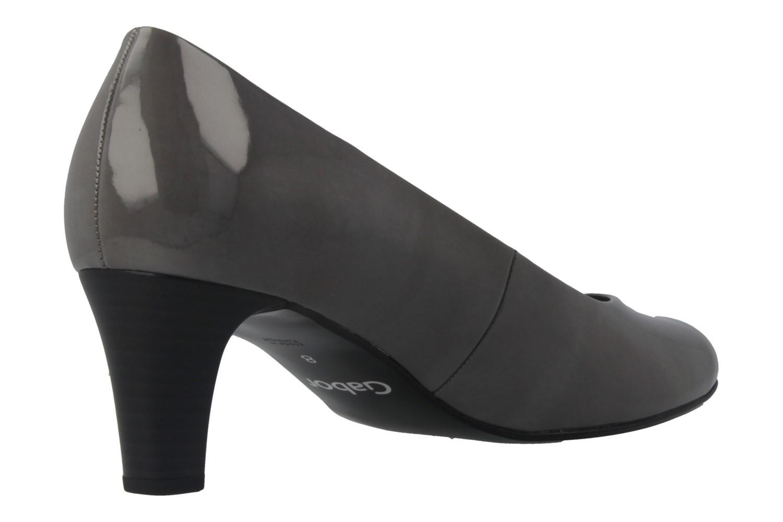 GABOR - Damen Pumps - Lack Grau Schuhe in Übergrößen – Bild 3