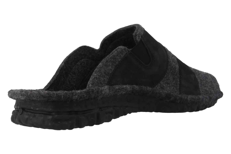 ROMIKA - Mikado H 50 - Herren Hausschuhe - Grau Schuhe in Übergrößen – Bild 3