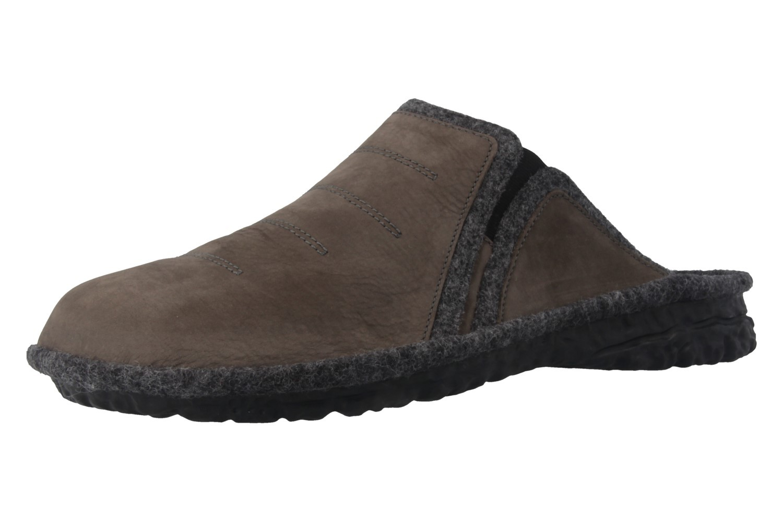 ROMIKA - Mikado H 49 - Herren Hausschuhe - Grau Schuhe in Übergrößen – Bild 1