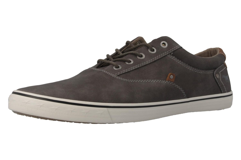 MUSTANG - Herren Halbschuhe - Grau Schuhe in Übergrößen – Bild 1