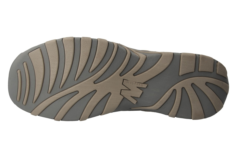 MUSTANG - Herren Halbschuhe - Grau Schuhe in Übergrößen – Bild 6