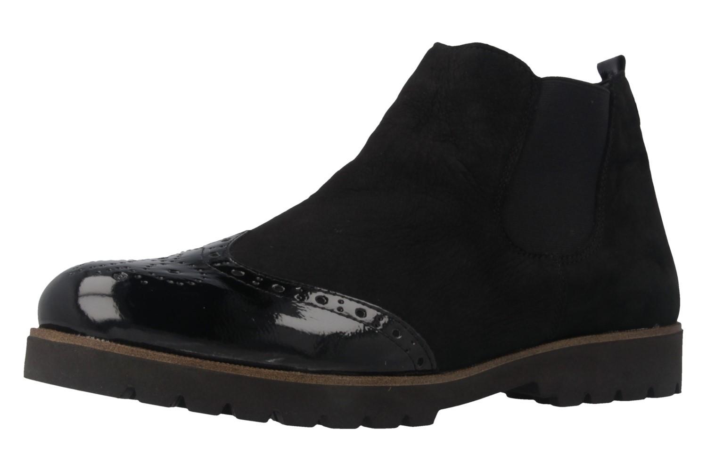 remonte damen chelsea boots schwarz schuhe in bergr en damenschuhe in bergr en stiefeletten. Black Bedroom Furniture Sets. Home Design Ideas