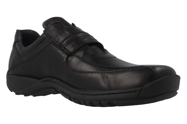 JOSEF SEIBEL - Arthur - Herren Halbschuhe - Schwarz Schuhe in Übergrößen – Bild 5