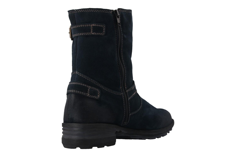 JOSEF SEIBEL - Sandra 30 - Damen Boots - Blau Schuhe in Übergrößen – Bild 3
