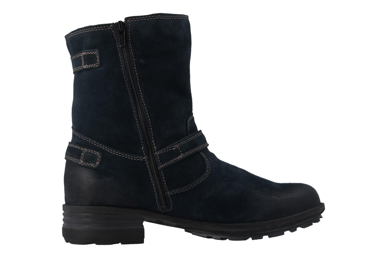 JOSEF SEIBEL - Sandra 30 - Damen Boots - Blau Schuhe in Übergrößen – Bild 4