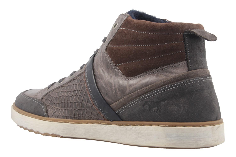 MUSTANG - Herren High Top Sneaker - Grau Schuhe in Übergrößen – Bild 2