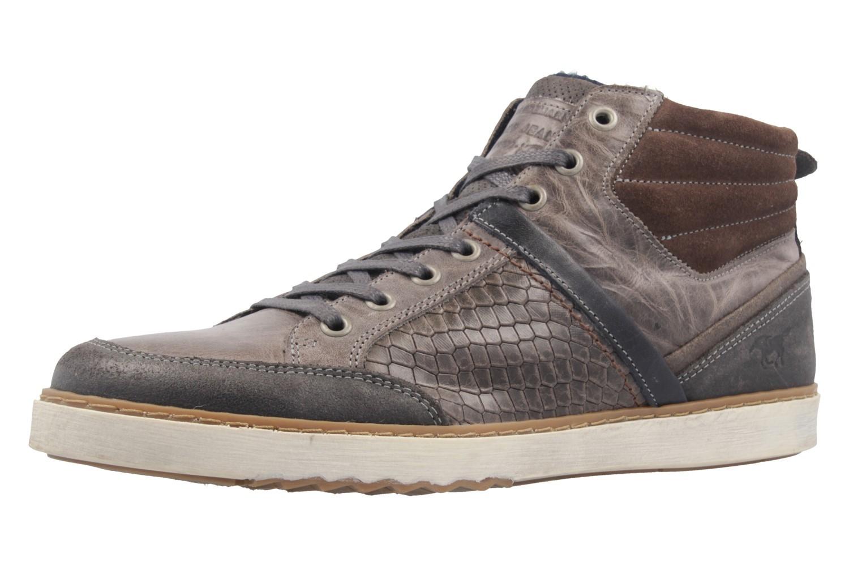MUSTANG - Herren High Top Sneaker - Grau Schuhe in Übergrößen – Bild 1