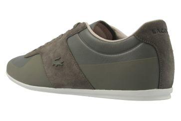 LACOSTE - Turnier 316 - Herren Sneaker - Khaki Schuhe in Übergrößen – Bild 2