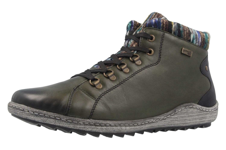 REMONTE - Damen Boots - Grün Schuhe in Übergrößen – Bild 1