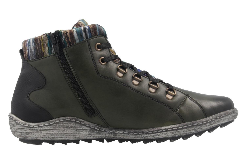 REMONTE - Damen Boots - Grün Schuhe in Übergrößen – Bild 4