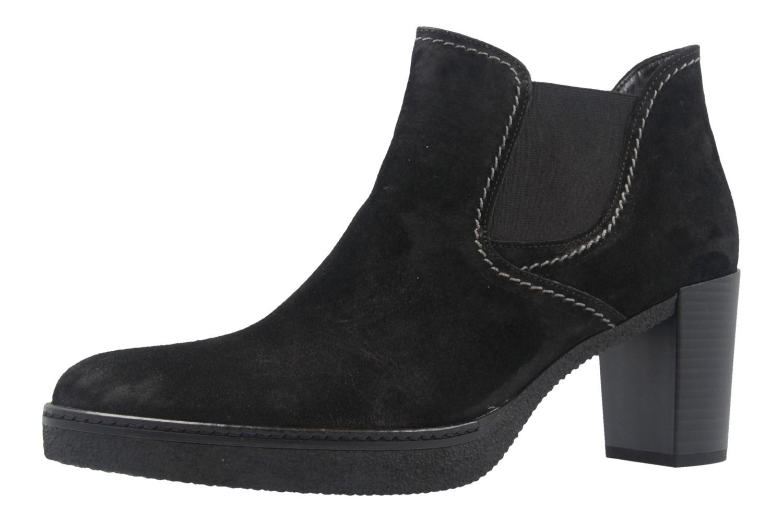 GABOR comfort - Damen Stiefeletten - Schwarz Schuhe in Übergrößen – Bild 1