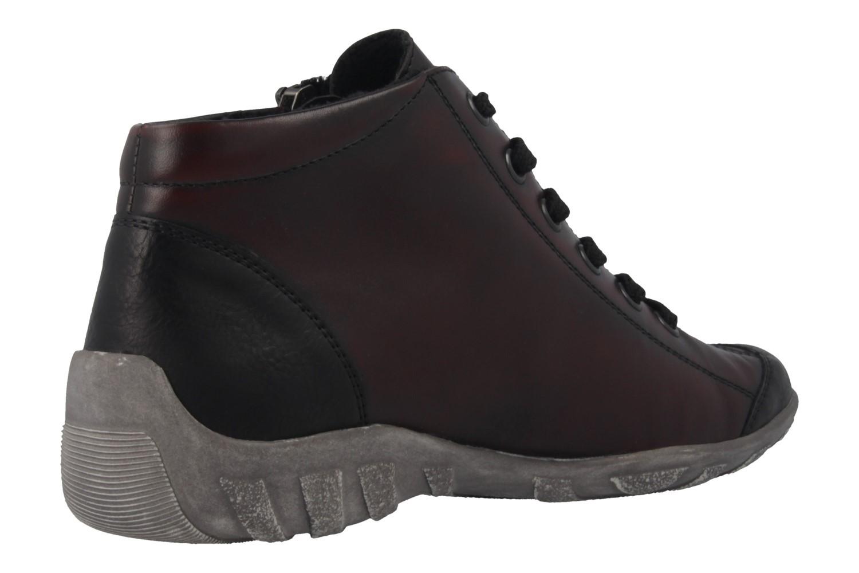REMONTE - Damen Halbschuhe - Rot Schuhe in Übergrößen – Bild 3