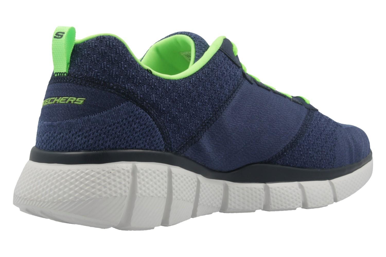 SKECHERS - Equalizer 2.0 True Balance - Herren Sneaker - Blau Schuhe in Übergrößen – Bild 3