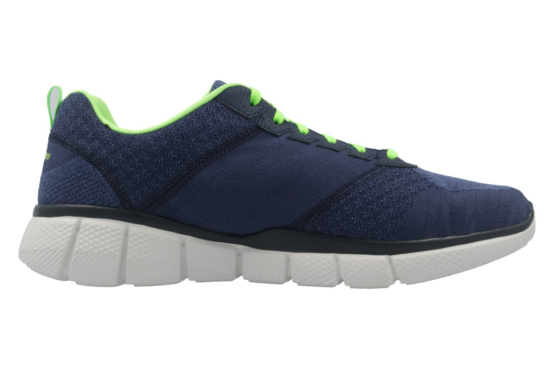 SKECHERS - Equalizer 2.0 True Balance - Herren Sneaker - Blau Schuhe in Übergrößen – Bild 4