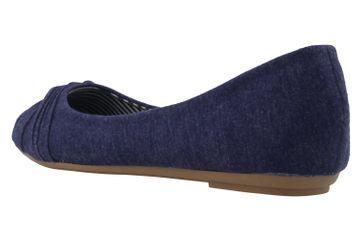 Fitters Footwear Ballerinas in Übergrößen Blau 2.514307 4194 - Navy große Damenschuhe – Bild 2