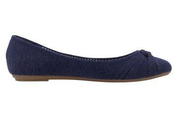 Fitters Footwear Ballerinas in Übergrößen Blau 2.514307 4194 - Navy große Damenschuhe – Bild 4