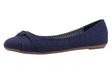 FITTERS FOOTWEAR - Amy - Damen Ballerinas - Blau Schuhe in Übergrößen – Bild 1