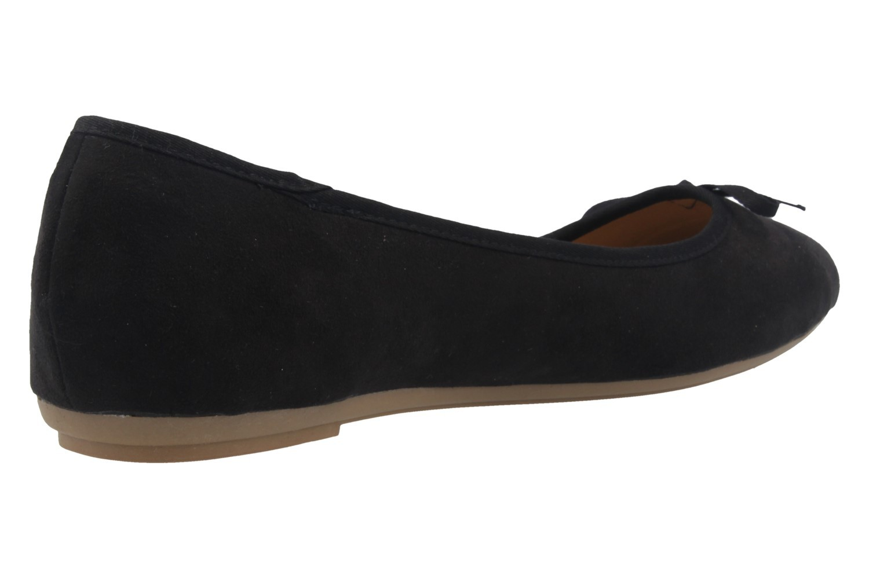 Fitters Footwear Ballerinas in Übergrößen Schwarz 2.589601 2298 große Damenschuhe – Bild 3