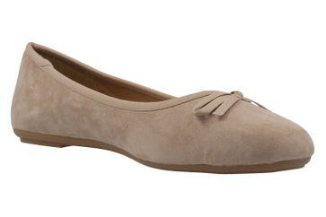 Fitters Footwear Ballerinas in Übergrößen Beige 2.589601 3198 große Damenschuhe – Bild 5
