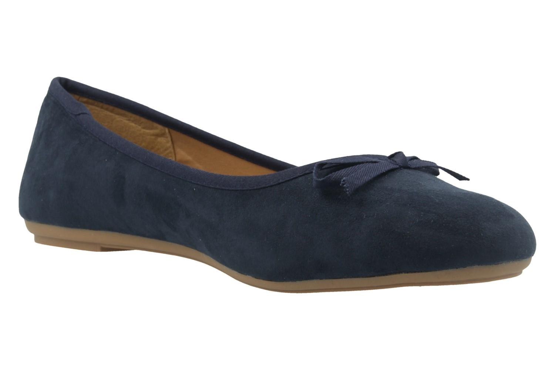 FITTERS FOOTWEAR - Helen - Damen Ballerinas - Blau Schuhe in Übergrößen – Bild 5