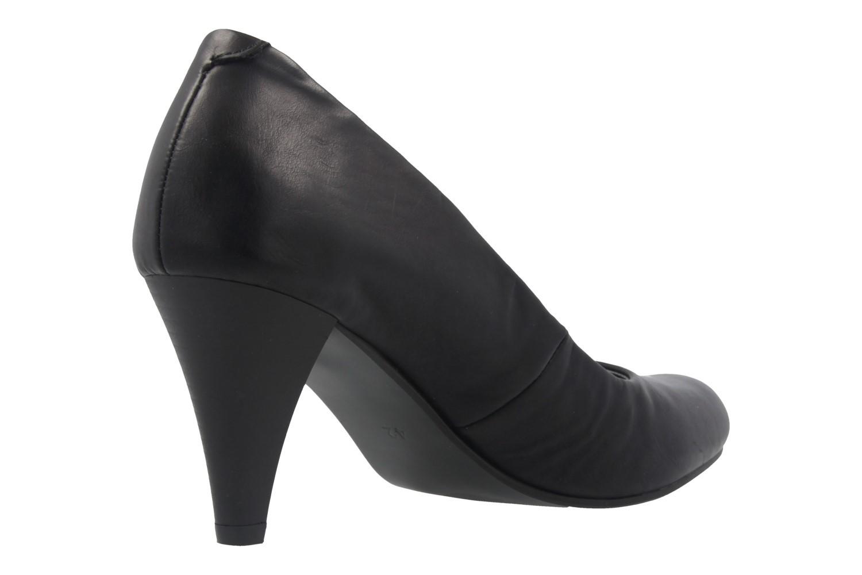 Fitters Footwear Pumps in Übergrößen Schwarz 2.469201 Black Brushed PU große Damenschuhe – Bild 3