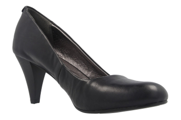 Fitters Footwear Pumps in Übergrößen Schwarz 2.469201 Black Brushed PU große Damenschuhe – Bild 5