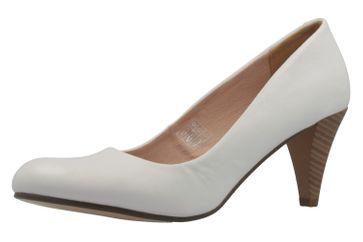 Fitters Footwear Pumps in Übergrößen Weiß 2.469201 Ice große Damenschuhe