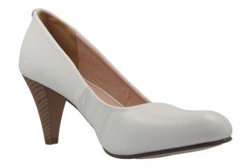 FITTERS FOOTWEAR - Princess - Damen Pumps - Weiß Schuhe in Übergrößen – Bild 5