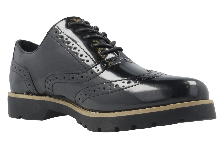 Fitters Footwear Halbschuhe in Übergrößen Schwarz 2.373202 2299 große Damenschuhe – Bild 5