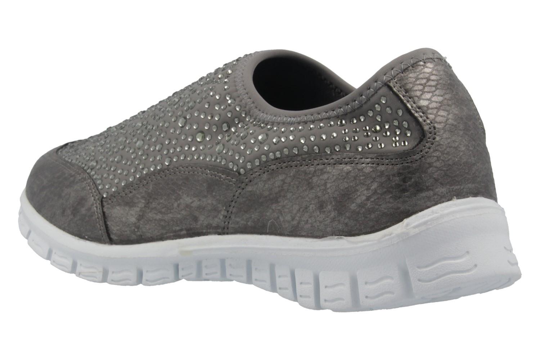 FITTERS FOOTWEAR - Emily - Damen Sneaker - Grau Schuhe in Übergrößen – Bild 2