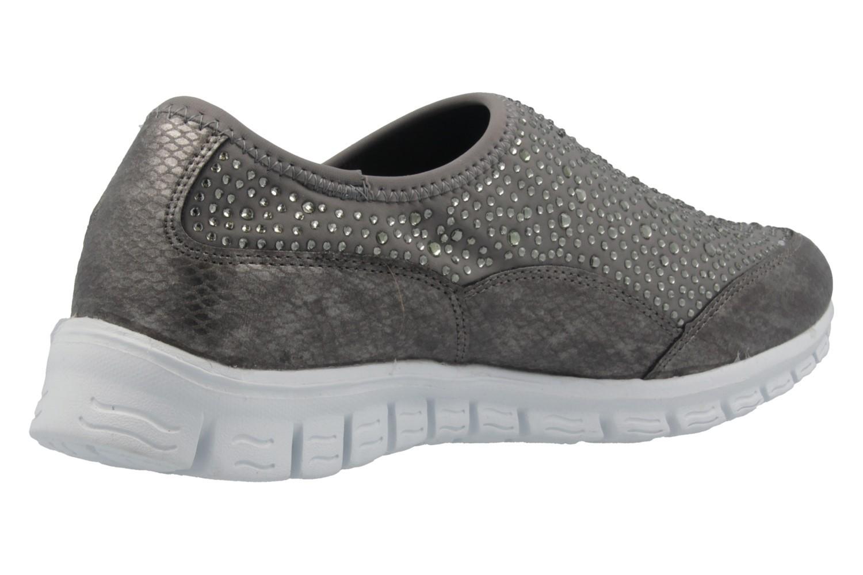 Fitters Footwear Sneaker in Übergrößen Grau 2.971401 Grey große Damenschuhe – Bild 3