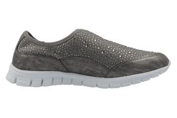 Fitters Footwear Sneaker in Übergrößen Grau 2.971401 Grey große Damenschuhe – Bild 4