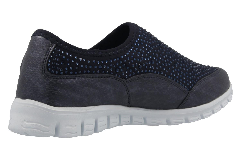 Fitters Footwear Sneaker in Übergrößen Blau 2.971401 Navy große Damenschuhe – Bild 3