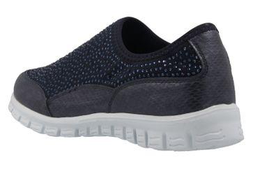 Fitters Footwear Sneaker in Übergrößen Blau 2.971401 Navy große Damenschuhe – Bild 2