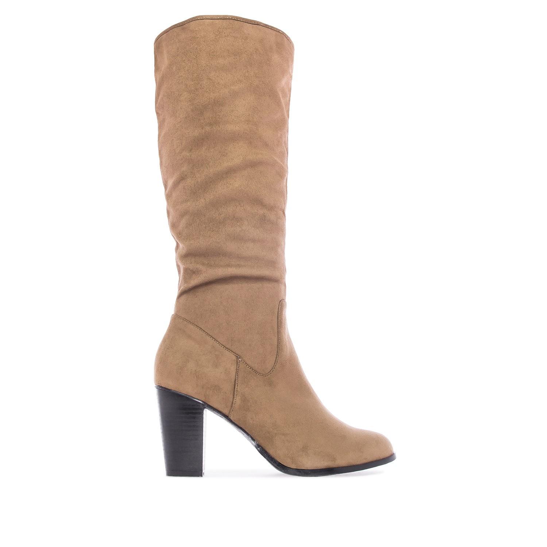 ANDRES MACHADO - Damen Stiefel - Braun Schuhe in Übergrößen – Bild 2