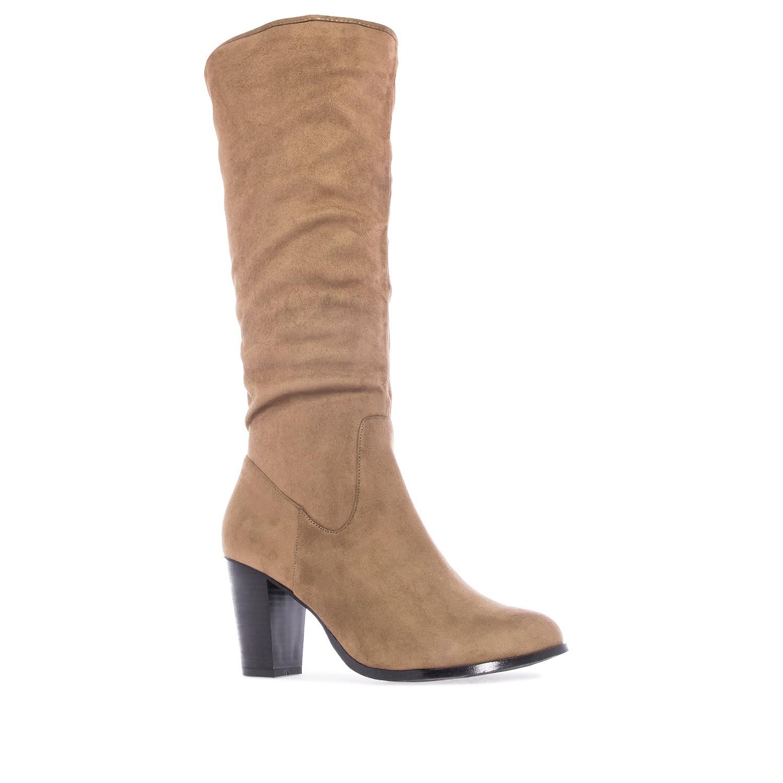 ANDRES MACHADO - Damen Stiefel - Braun Schuhe in Übergrößen – Bild 1
