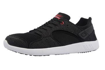 Boras Sneaker in Übergrößen Schwarz 3194-0145 große Herrenschuhe – Bild 1