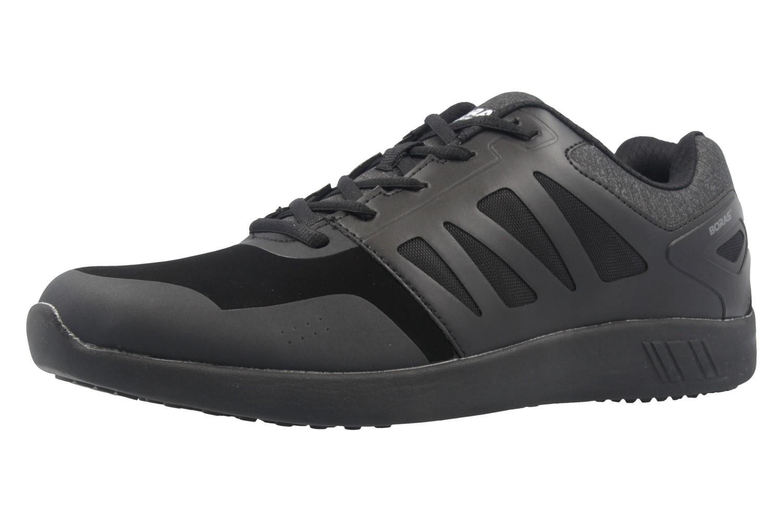 BORAS - Herren Sneaker - Spin Pro - Schwarz Schuhe in Übergrößen – Bild 1