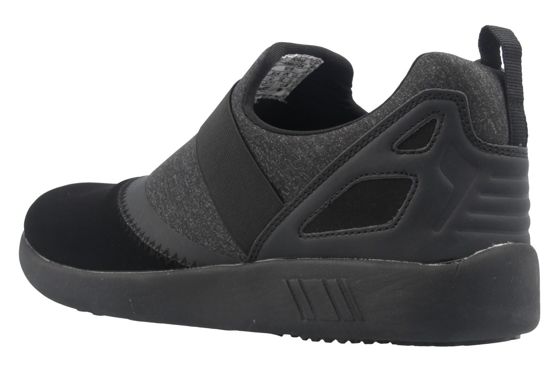 Boras Sneaker in Übergrößen Schwarz 3098-0124 große Herrenschuhe – Bild 2