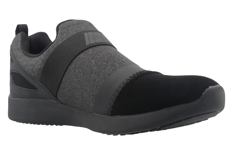 Boras Sneaker in Übergrößen Schwarz 3098-0124 große Herrenschuhe – Bild 5