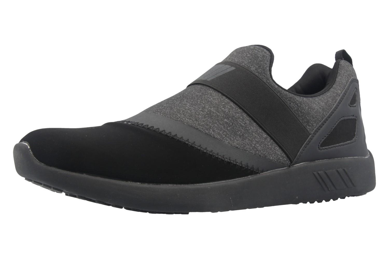 Boras Sneaker in Übergrößen Schwarz 3098-0124 große Herrenschuhe – Bild 1