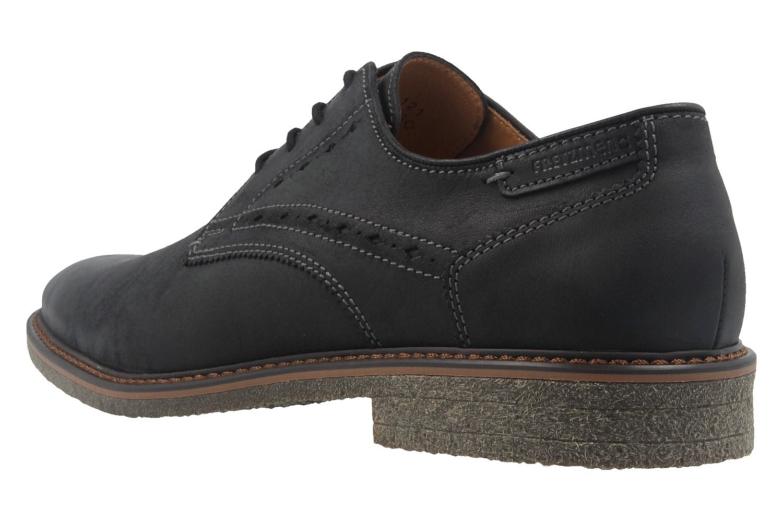 FRETZ MEN  - Herren Halbschuhe - Andrew - Schwarz Schuhe in Übergrößen – Bild 2