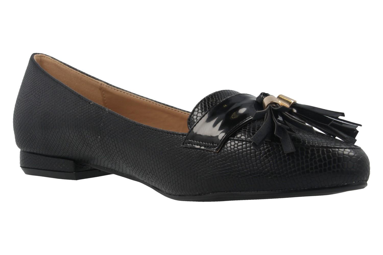 ANDRES MACHADO - Damen Slipper - Schwarz Schuhe in Übergrößen – Bild 5