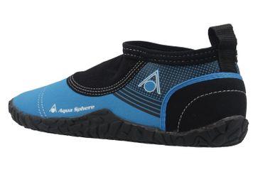 Aqua Sphere Badeschuhe in Übergrößen Blau Beachwalker 2.0 große Herrenschuhe – Bild 2
