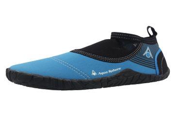 Aqua Sphere Badeschuhe in Übergrößen Blau Beachwalker 2.0 große Herrenschuhe – Bild 1