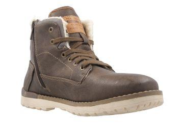 Mustang Shoes Boots in Übergrößen Braun 4092-602-32 große Herrenschuhe – Bild 5